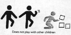Does not play with other children